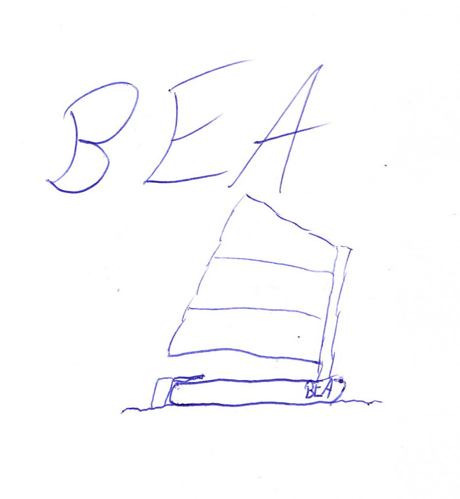 BEA Zeichnung Logbuch Scan