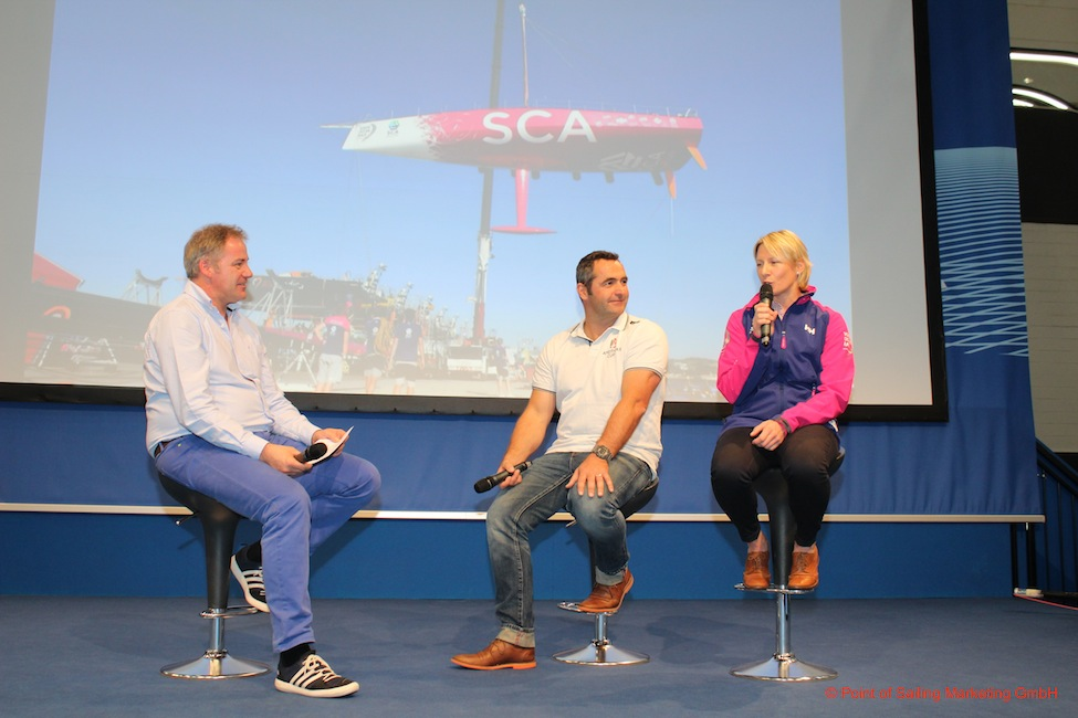 Foto by Point of Sailing Marketing GmbH -- Nach mir ging es etwas rasanter weiter