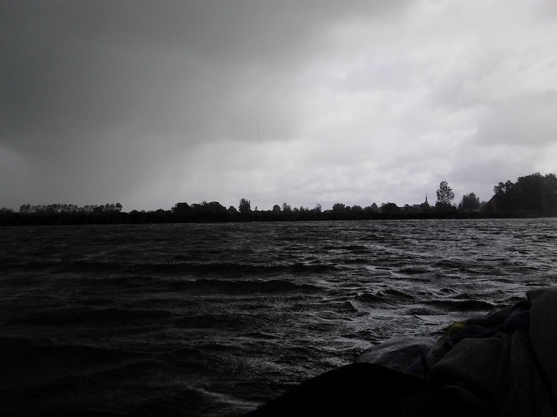Das einzige FARB-Bild, das auf dem See entstanden ist...