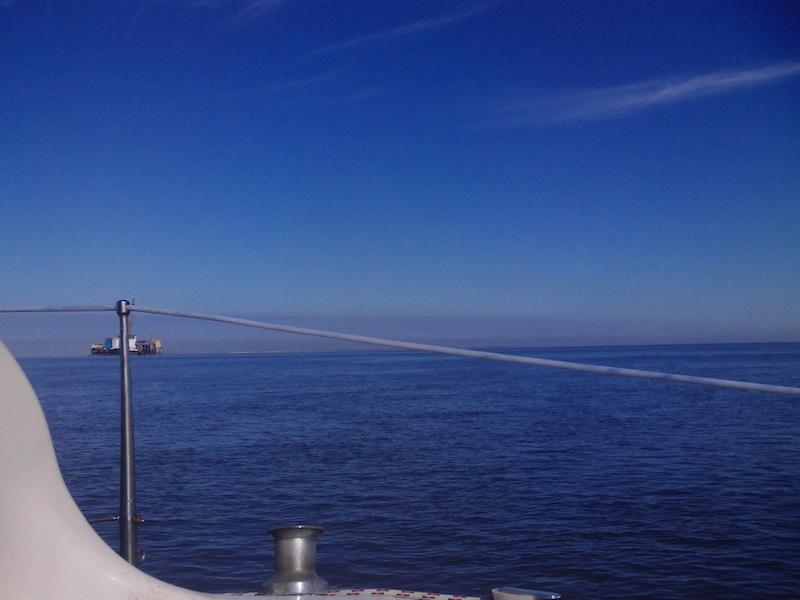Wattenmeer Ölplattform
