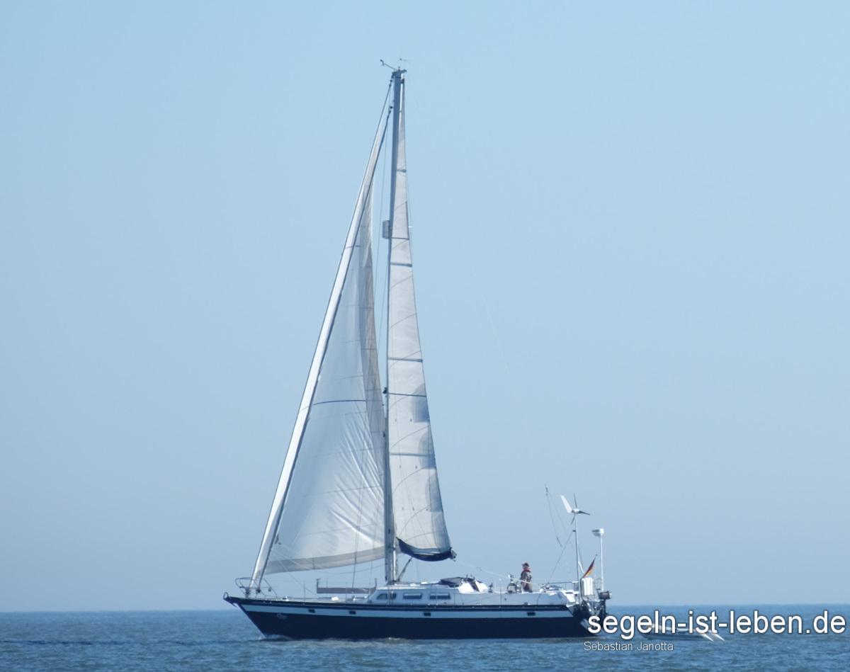 Segelboot Blau Meer Segelyacht
