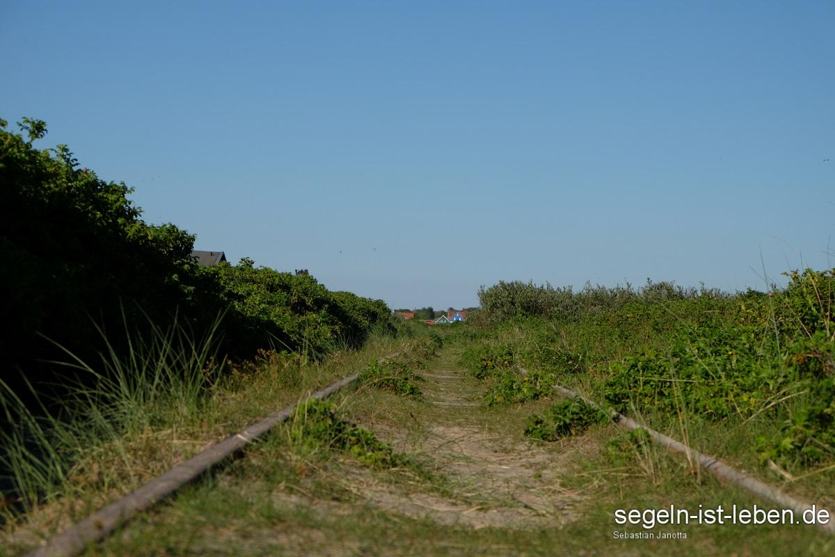 Spiekeroog Inselbahn Gleise