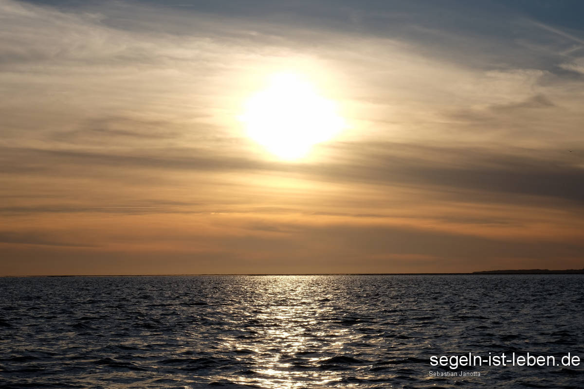 Abend Wattenmeer Sonne